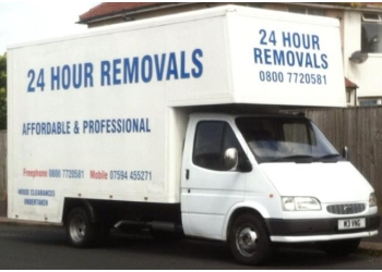 24 hour removals & house clearances