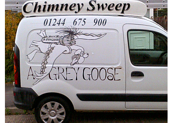 A Grey Goose Chimney Sweep