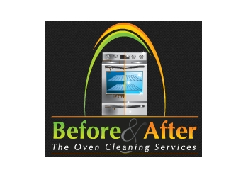 Before & After The Oven Cleaning Services