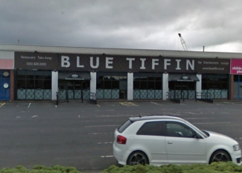 Blue Tiffin
