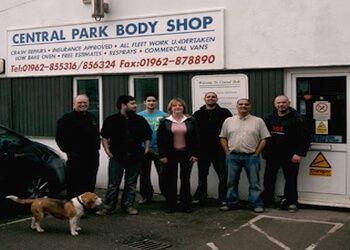 Central Park body shop