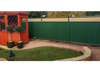 ColourFence Garden Fencing