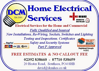 DCM Home Electrical Services