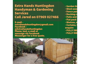 Extra Hands Huntingdon Handyman and Gardening service