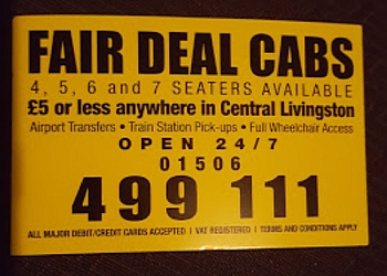 Fair Deal Cabs