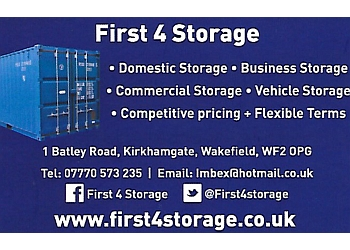 First 4 Storage