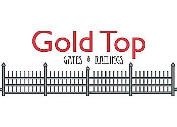Gold Top Gates & Railings