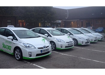 Green Frog Taxis