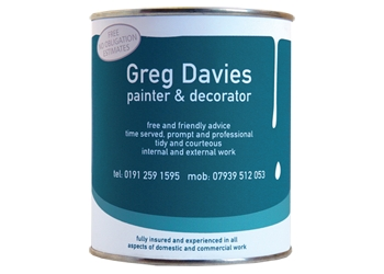 GREG DAVIES PAINTER & DECORATOR