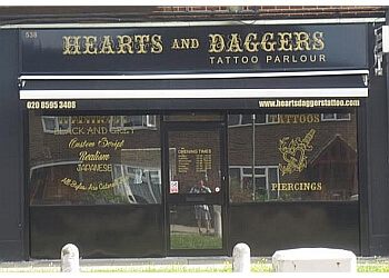 HEARTS AND DAGGERS TATTOO PARLOUR
