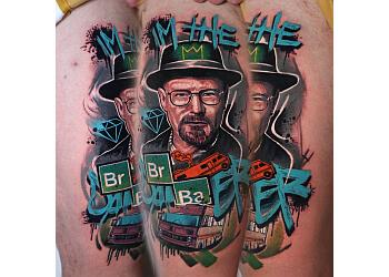 Hypnotic Art Tattoo