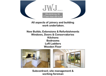 JWJoinery Building and Maintenance