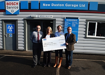 New Duston Garage