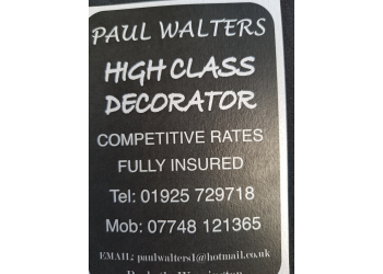 PAUL WALTERS High class Decorators