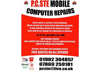 PC STE Mobile Computer Repairs