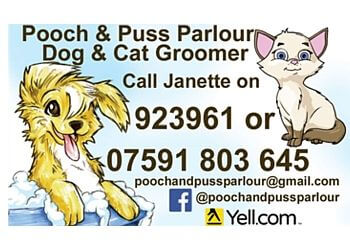 Pooch and Puss Parlour. Cat & Dog Groomer. Cat Sitter.