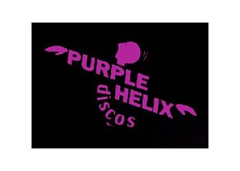 Purple Helix Discos