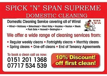 SPICK N SPAN SUPREME CLEANING