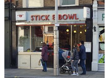 Stick & Bowl