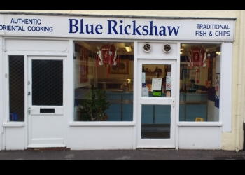The Blue Rickshaw