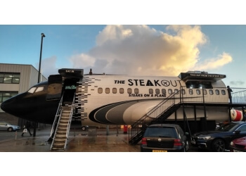 The Steakout-Steaks on a Plane