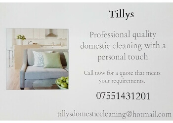 Tilly's Domestic Cleaning