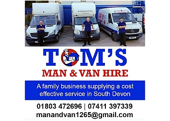 Tom's man and van hire Devon