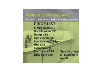 Watford oven cleaners